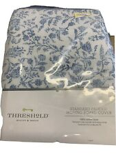 Threshold Standard Size Padded Ironing Board Cover Blue Cottage Boho Floral New