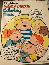 RARE 1972 Family Circus Coloring Book