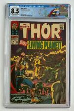 Thor #133 CGC 8.5 - The Mighty 1st Ego the Living Planet Marvel Comics