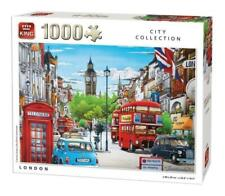 1000 Piece City Collection Jigsaw Puzzle Toy -  LONDON CAB BUS BIG BEN BOX 05361