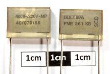Rifa PME261 100nF ± 10% 220Vac, 400Vdc Condensador de papel (pk de 2)