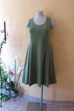 BORIS INDUSTRIES Empire Kleid 48 (5) NEU grün MEGA A-Form Baumwolle LAGENLOOK
