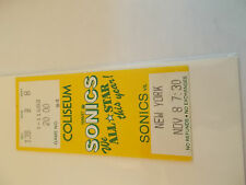 Seattle Supersonics New York Knicks 11-8-86 Ticket Stub SK3