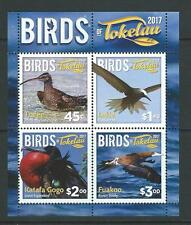 NEW ZEALAND 2017 TOKELAU BIRDS MINIATURE SHEET UNMOUNTED MINT, MNH