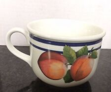 """Lenox Cup Casual Images Fruit Groves Cup  2 7/8"""" NWOT"""