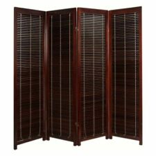 Finley Home CK#85085 Tranquility Wooden Room Divider -Walnut