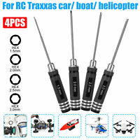 4pcs Hex Nut Screwdriver Tool Set for RC Traxxas Car Helicopter Robot Boat Drone