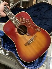 Gibson Hummingbird Early 1970s Natural Burst Acoustic Guitar
