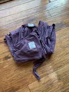 baby k'tan purple wrap carrier