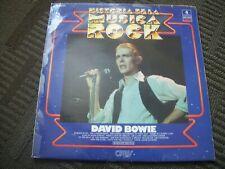 DAVID BOWIE--HISTORIA DE LA MUSICA ROCK--VINYL ALBUM