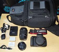 Canon EOS 700D /REBEL T5i SLR Camera 18MP FULL HD + EF-S 18-55mm IS STM + EXTRAS