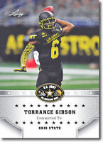 "TORRANCE GIBSON 2015 LEAF ""1ST EVER PRINTED"" HIGH SCHOOL ARMY ROOKIE CARD!"