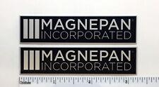 Magnepan Incorporated Speaker Badge Logo Emblem Pair Magneplanar Free Shipping