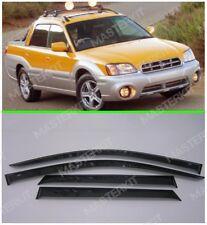 Deflectors For Subaru Baja Windows Rain Sun Visors Weather shields 2002-2006