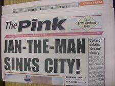 05/02/1994 COVENTRY evening Telegraph il rosa: principali titolo recita: Gen-the-Man