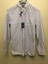 Hackett London Men's Blazer Stripe Shirt, Blue White, Medium NWT RRP £95