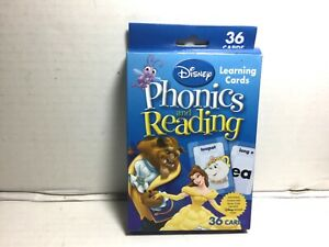 Disney Phonics and Reading Learning Cards