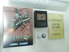 Aviator Arcade II - 2 auf Cartridge für Commodore 64 - C64 - Neu !