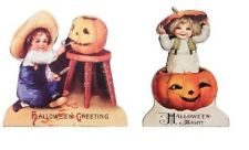 "Bethany Lowe Design Set of 2 ""Halloween Children Dummy Boards"" RL6836"