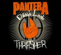 PANTERA cd lgo DADDY'S LITTLE THRASHER Official Baby ONE PIECE Shirt  12 Months