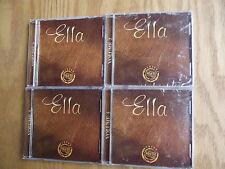 Ella Fitzgerald Vintage Vaults 4 Volume Set On 4 Disc's (CD, 2004)