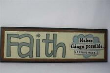 This Thing Called Family 'Faith Makes Things Possible-Not Easy'  #16870  NIB