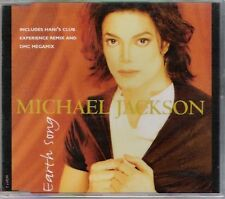 Michael Jackson - Earth Song - Deleted UK/ Austrian 3 track CD