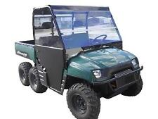 02-08 Polaris Ranger 800,700 Clear Full Windshield..1/4 Thick Polycarbonate!