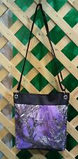 True Timber Purple Camo-Camouflage Crossbody Bag Tote-Made In USA