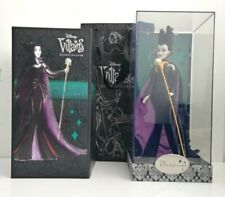 Disney Villains Designer Collection Maleficent Doll with gift bag