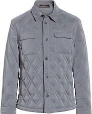 Ermenegildo Zegna Mens Quilted Down Jacket Size 52 NWT $3995