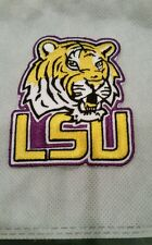"""Louisania state university tigers  Iron On Patch 3""""height x2.5""""wide"""