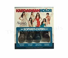 Nicole by OPI Kardashian Kolor Sophisti-Cuties 4 ct 3.75 ml Nail Polish Set