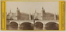 Paris Conciergerie Photo Henri Guérard Stereo L5n61 VintageAlbumine c1870