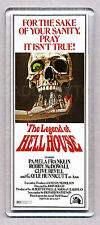THE LEGEND OF HELL HOUSE movie poster LARGE 'WIDE' FRIDGE MAGNET - 70's CLASSIC!