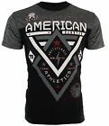 American Fighter AFFLICTION Mens T-Shirt ALASKA Elephant Print GYM MMA UFC $40