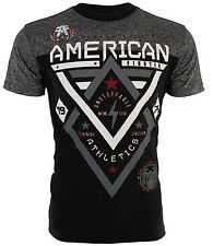 AMERICAN FIGHTER Mens T-Shirt ALASKA PATTERN Biker ELEPHANT PRINT Gym $40 NWT