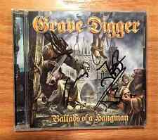 Grave Digger - Ballads Of A Hangman + 3 Japan CD (Autographed by 4 band members)