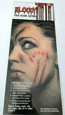 Halloween Bloody Blood Face Scars Tattoo Assorted Designs Face Make Up Kit