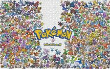 Puzzle Jigsaw 1000 piece Pokemon Pikachu Characters Anime Japan Hobby Kids Toys