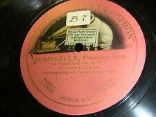8/4L  Enrico Caruso - Pimpinella , Florentine Song ( einseitig )