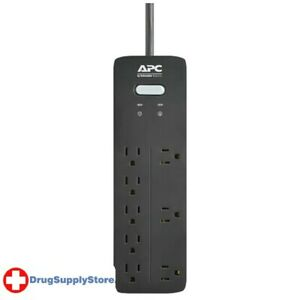 PE 8-Outlet SurgeArrest(R) Home/Office Series Surge Protector, 6ft Cord