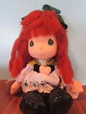 Precious Moments Irish Doll the worlds children red yarn Hair 13""