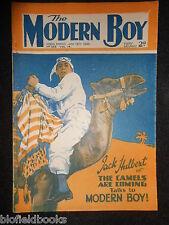 THE MODERN BOY; Pre War Comic - 19th January 1935 Biggles/W E Johns/Mickey Mouse