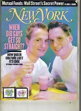 WHEN DID GAYS GET SO STRAIGHT?  New York Magazine 9/30/96 MUTUAL FUNDS