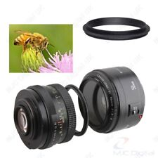 Male to Male Lens Ring 55mm-62mm 55 to 62 Macro Reverse Ring Adapters