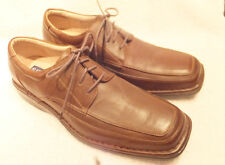 STAFFORD  Essentials  Brown leather Casual Oxford  Sz 10.5M  Totally Excellent