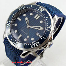 41mm sterile blue dial sapphire glass date Mechanical automatic mens watch B222