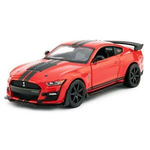 Ford Mustang Shelby GT500 2020 red - Bburago 1:32 Scale Diecast Model Car