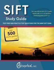 ARMY SIFT Exam Study Guide Test Prep Practice Questions Preperation Study Guide